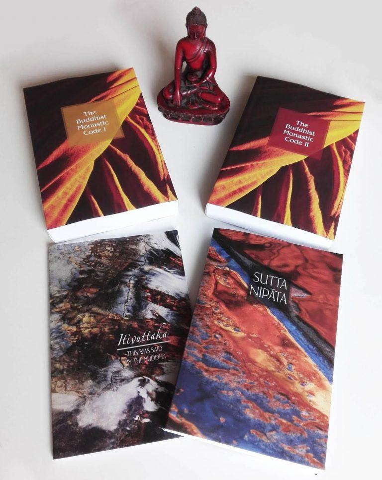 Libros de Ṭhānissaro Bhikkhu
